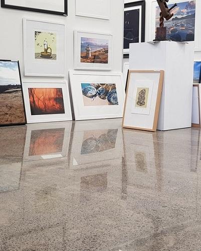 Art Gallery Floor Polishing